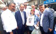 BAŞKAN GÜRKAN İMAMOĞLU İÇİN İSTANBUL'DA