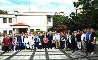 VALİ CANALP PAZARCI ESNAFIYLA  KAHVALTIDA BULUŞTU