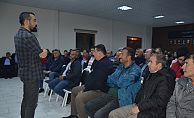 ETUS ŞOFÖRLERİNE ÖFKE KONTROLÜ KONFERANSI VERİLDİ