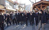 MECLİS BAŞKANI'NDAN KUNDURACILAR ÇARŞISI'NA ZİYARET