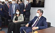 Bakan Selçuk, AK Parti İl Başkanlığını ziyaret etti